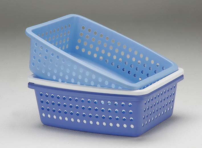 Cestas de plástico para el hogar fabricadas por Erce