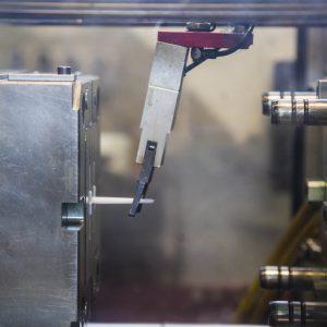 Piezas de plástico por proceso de moldeo de inyección