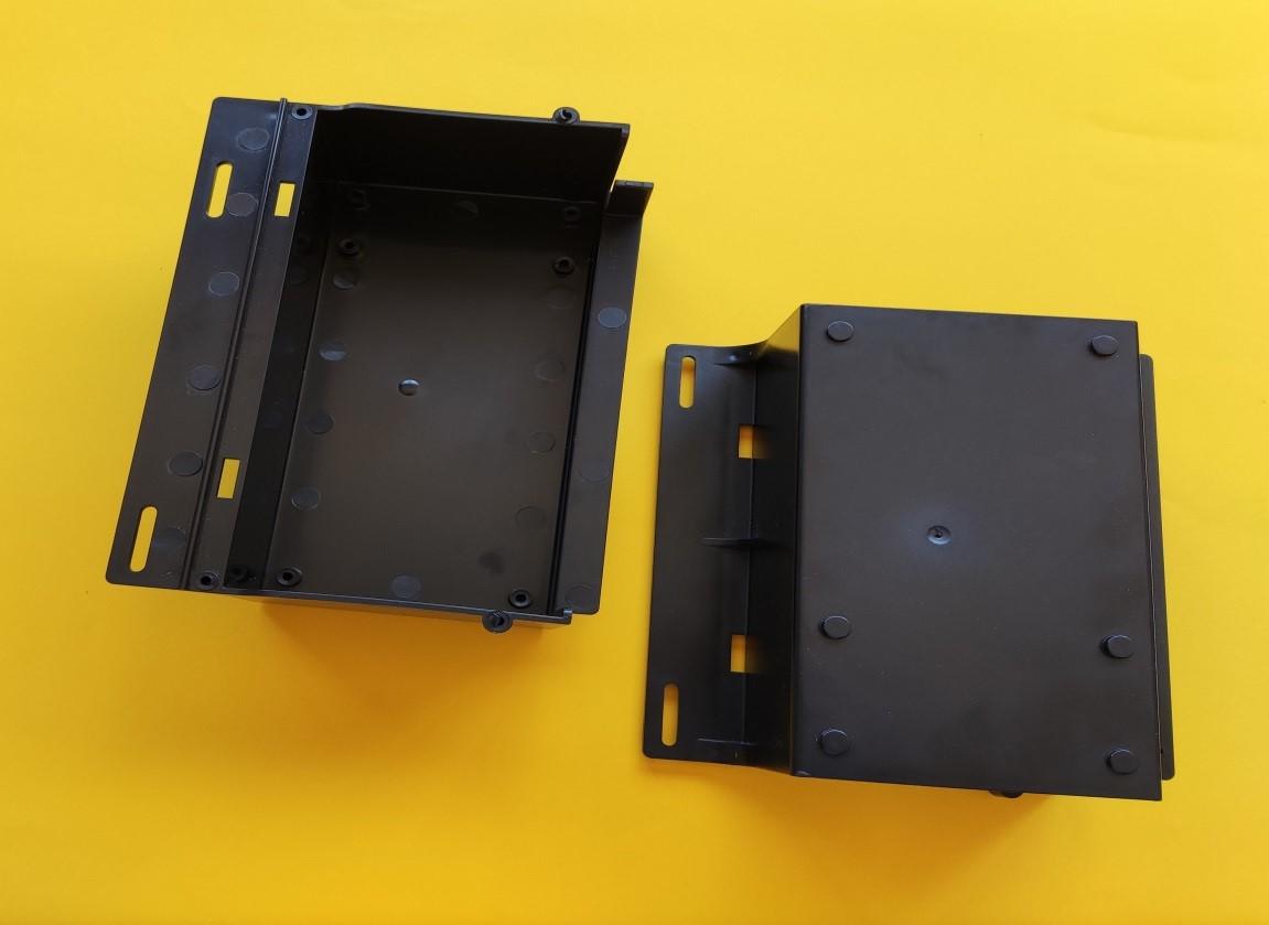 Caja de protección de material eléctrico realizado en inyección de plásticori